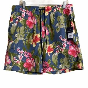 Rainforest Mens Swimming Trunks Size Large NWT